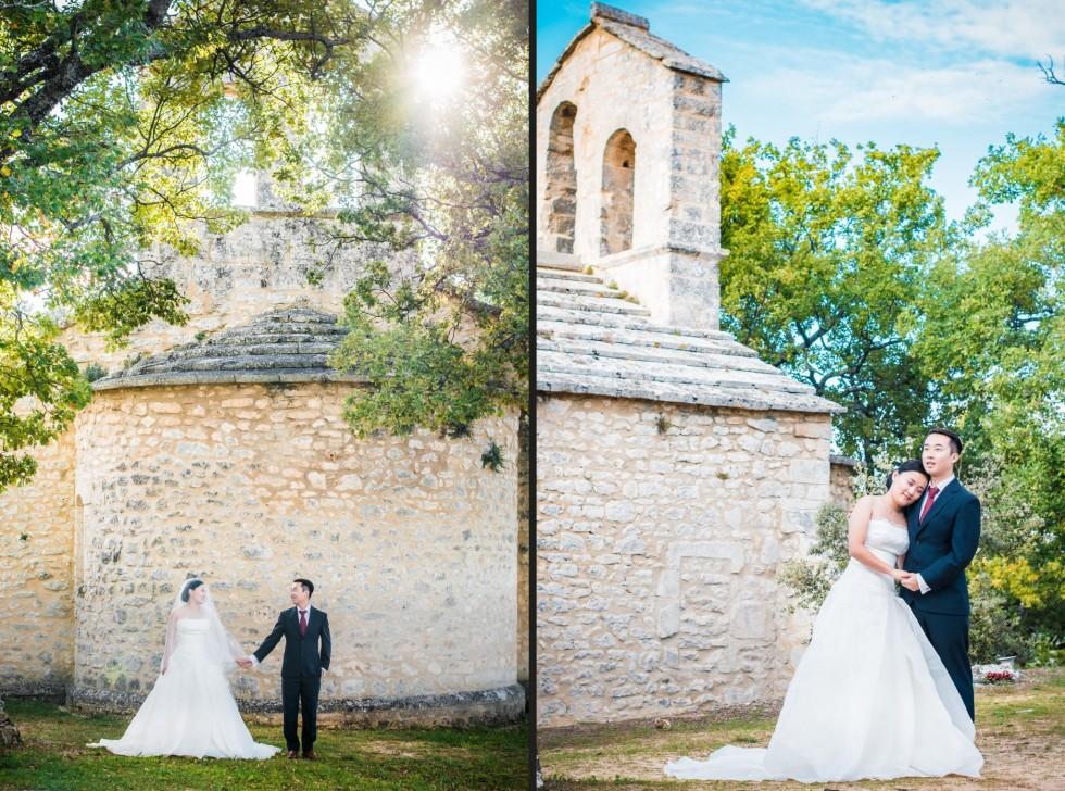 Mariage chapelle Buoux
