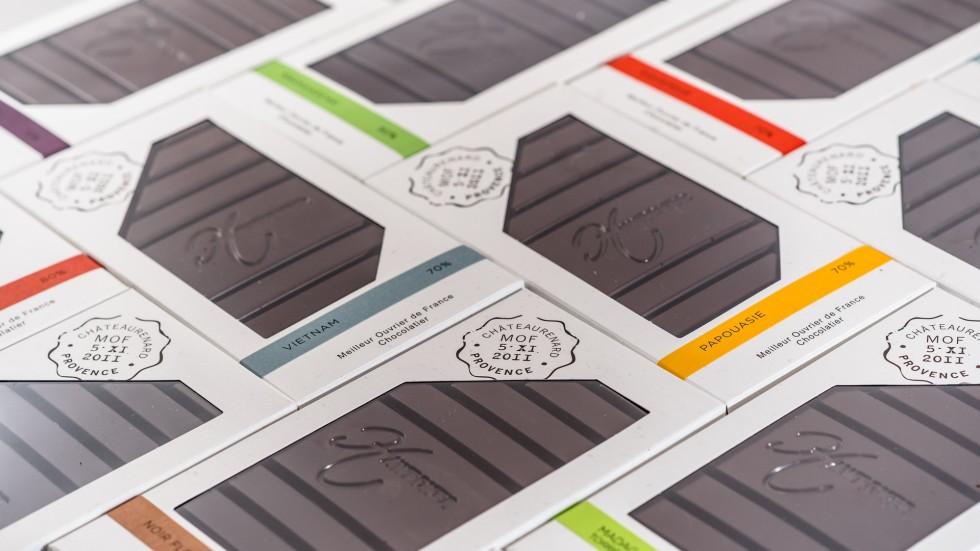 Tablettes chocolat Hawecker